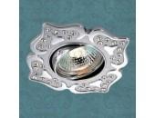 Точечный встраиваемый светильник Novotech 369826 Flower (модерн, хром)