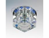 Точечный встраиваемый светильник Lightstar 004061 Romb Mc (модерн, прозрачный)