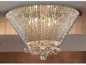 Люстра потолочная Lussole LSC-8407-12 Piagge (модерн, хром)