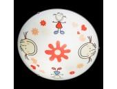 Светильник настенно-потолочный Eglo 88973 Junior (детский, белый)
