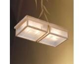 Люстра потолочная Svetresurs/Светресурс 548-717-04 (японский стиль, дерево)