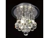 Люстра потолочная Mantra MN 2333 Crystal (модерн, хром)