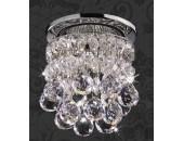 Точечный встраиваемый светильник Novotech 369328 Drop (модерн, хром)