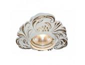 Точечный встраиваемый светильник ArteLamp A5285PL-1SG OCCHIO (классический, золото матовое)