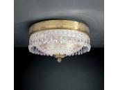 Светильник потолочный PL 6100/2 (классический, золото)
