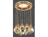 Точечный встраиваемый светильник Novotech 369788 Ritz (модерн, золото)