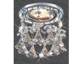 Точечный встраиваемый светильник Novotech 369791 Ritz (модерн, хром)
