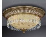 Светильник потолочный Reccagni Angelo PL 6306/3 (классический, золото)