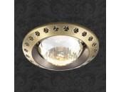Точечный встраиваемый светильник Novotech 369645 Glam (модерн, бронза)