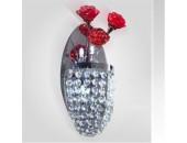 Бра Citilux EL325W02.2 Eletto Rosa Rosso (флористика, хром)