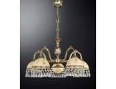 Люстра подвесная Reccagni Angelo L 6306/5 (классический, золото)