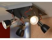Светильник спот Lussole Frontino LSL-7401-04 (черный)