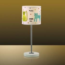 Настольная лампа Odeon Light 2279/1T Cats (детский, белый)