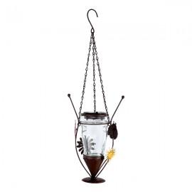 Уличный подвесной светильник Globo 33256 SOLAR (модерн, коричневый)