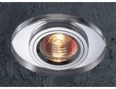 Точечный встраиваемый светильник Novotech 369437 Mirror (модерн, хром)