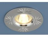 Точечный встраиваемый светильник Elektrostandard 2003 SL  (модерн, сереброhj)