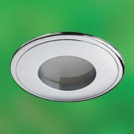 Влагозащищенный встраиваемый светильник Novotech 369303 Aqua (модерн, хром)