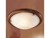 Светильник настенно-потолочный Sonex/Сонекс 136 Lufe wood (модерн, бронза)