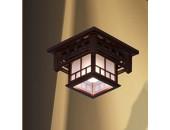 Люстра потолочная Svetresurs/Светресурс 513-727-01 (японский стиль, дерево)