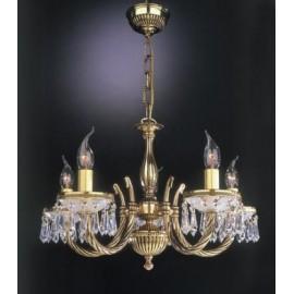 Люстра Reccagni Angelo L 4751/5 (классический, золото)