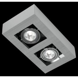 Светильник точечный накладной Eglo 89076 Loke (хай-тек, хром матовый)