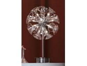 Настольная лампа Lussole LSA-1604-12 Lazio (хай-тек, хром)