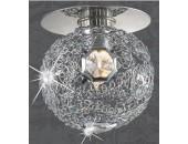 Точечный встраиваемый светильник Novotech 369456Lace (модерн, хром)