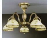 Люстра Reccagni Angelo PL 6228/5 (классический, бронза)