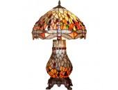 Настольная лампа Snowlight 13-760-03T (тиффани, бронза)