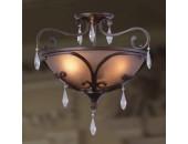 Светильник потолочный L`Arte Luce L55653.17 Filante (кантри, коричневый)