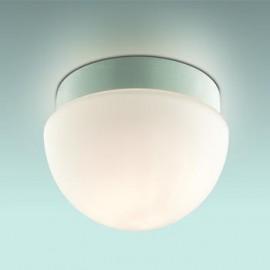 Светильник потолочный влагозащищенный Odeon Light 2443/1B Minkar (модерн, никель)