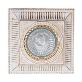 Встраиваемый светильник L`Arte Luce L10451.47 Avallon (классический, белый)