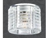 Точечный встраиваемый светильник Novotech 369809 Nord (модерн, хром)