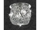 Точечный встраиваемый светильник Novotech 369513 Lace (модерн, хром)