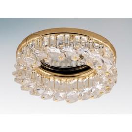 Точечный встраиваемый светильник Lightstar 030402 Rocco cr (модерн, золото)