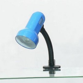 Настольная лампа прищепка Lussole LST-4924-01 (модерн, голубой)