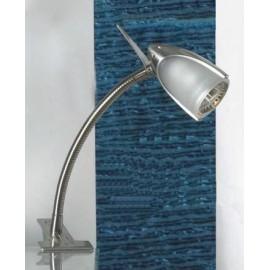 Настольная лампа прищепка Lussole LST-3914-01 (модерн, никель)