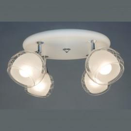 Люстра потолочная спот Citilux CL158141 Самба (модерн, белый)