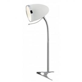 Настольная лампа ArteLamp A6155LT-1WH COSY на прищепке (модерн, белый)