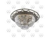 Люстра потолочная MW-Light 351012207 Изабелла (классический, бронза)