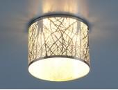 Точечный встраиваемый светильник Elektrostandard 8403 CH/WH (модерн, хром-белый)