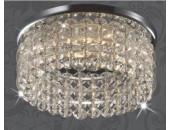 Точечный встраиваемый светильник Novotech 369441 Pearl Round (модерн, хром)