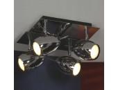 Светильник спот Lussole LSN-4301-04 Baron (хай-тек, хром)