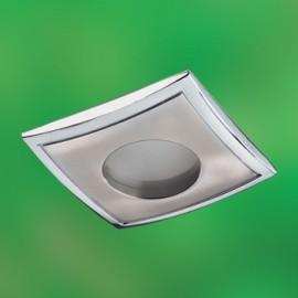 Влагозащищенный встраиваемый светильник Novotech 369306 Aqua (модерн, никель)