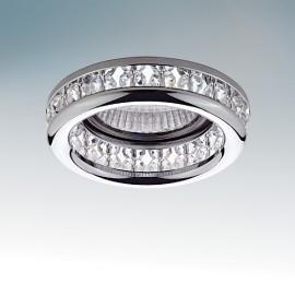Точечный встраиваемый светильник Lightstar 031704 MONILE INC (модерн, хром)