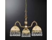 Люстра подвесная Reccagni Angelo L 6306/3 (классический, золото)