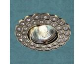 Точечный встраиваемый светильник Novotech 369824 Flower (модерн, бронза)