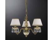 Люстра подвесная Reccagni Angelo L 6420/3 (классический, бронза)