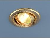 Точечный встраиваемый светильник Elektrostandard 704 SN/GD (модерн, никель-золото)