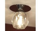 Точечный встраиваемый светильник Lussole LSQ-2000-01 Artipalda (хай-тек, хром)